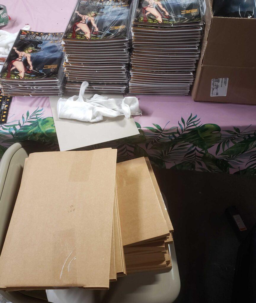 Boxes & books